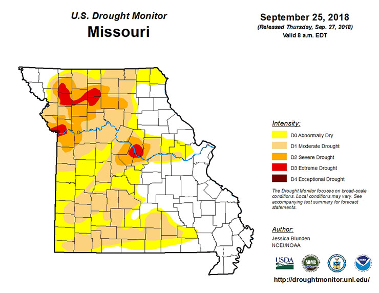 Drought Drought Map on
