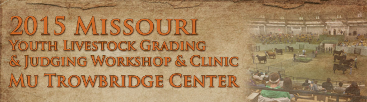 2015 Youth Livestock Grading and Judging Clinic
