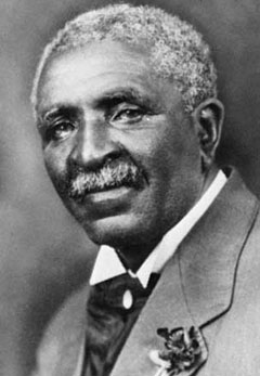 Photo of George Washington Carver, peanut innovator